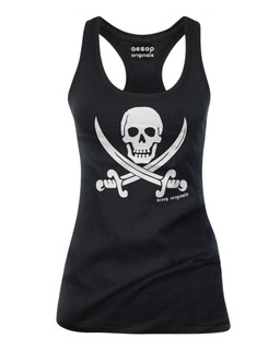 Jolly Roger Pirate Flag - Tank Top Aesop Originals Clothing