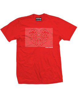 Heart And Soul - Mens Tee Shirt Aesop Originals Clothing (Red)