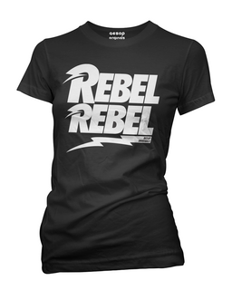 Rebel Rebel - Tee Shirt Aesop Originals Clothing (Black)