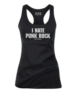 I Hate Punk Rock - Tank Top Aesop Originals Clothing (Black)