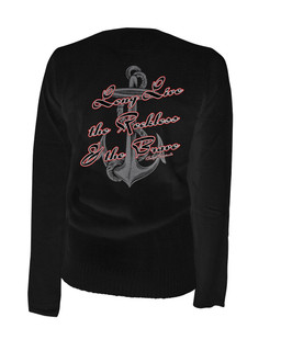 Long Live The Reckless - Cardigan Aesop Originals Clothing (Black)