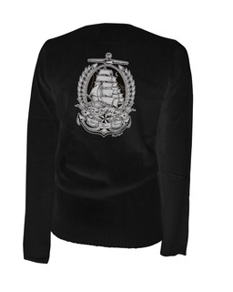 Ahoy There Matey - Cardigan Aesop Originals Clothing (Black)