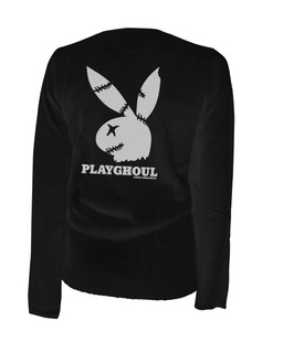 Playghoul Bunny - Cardigan Aesop Originals Clothing (Black)