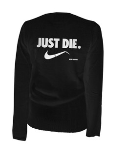 Just Die - Cardigan Aesop Originals Clothing (Black)