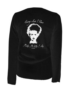 Every Scar I Have Makes Me Who I Am - Cardigan Aesop Originals Clothing (Black)