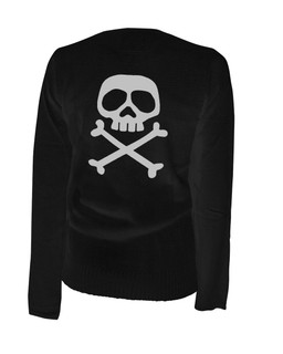 The Misfit Captain - Cardigan Aesop Originals Clothing (Black)