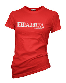 Diabla - Tee Shirt Aesop Originals Clothing (Red)