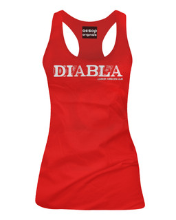 Diabla - Tank Top Aesop Originals Clothing (Red)