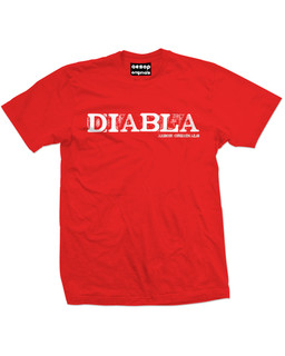 Diabla - Mens Tee Shirt Aesop Originals Clothing (Red)