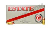 ESTATE RANGE & TARGET .380 95GR FMJ - 50 ROUNDS