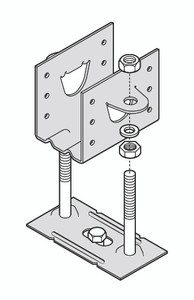 Kleva Klip Box of Adjustable Joist Support