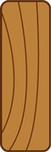 42x10   Ecolining Coverstrip 3.6m $1.02 per l/m