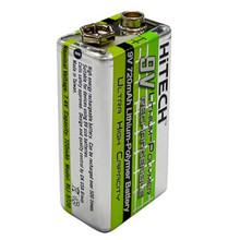 Hitech RLI-9720 9V Li-Polymer 720mAh Rechargeable Battery