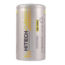 Hitech D Size Ni-MH Rechargeable Battery 10000mAh 1.2V