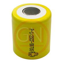 1/2 Sub-C Rechargeable Battery Ni-Cd  800mAh, Flat Top
