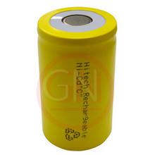 C Rechargeable Battery Ni-Cd 3000mAh, Flat Top