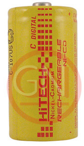Hitech P-3000C Ni-Cd C Size Rechargeable Battery 3000mAh