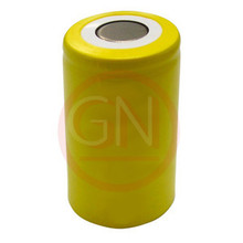 Sub-C Rechargeable Battery Ni-Cd 1800mAh, Flat Top