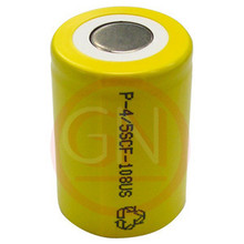 4/5 Sub-C Rechargeable Battery Ni-Cd 1200mAh, Flat Top