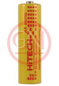Hitech P-1100AA Ni-Cd AA Rechargeable Battery 1100mAh