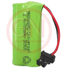 MH-2AAAUN 2.4V Ni-Mh Phone Battery with Universal Connector