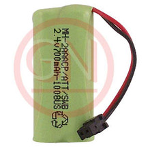 MH-2AAACP 2.4V Ni-Mh Phone Battery for Uniden BT1008, BBTG0645001