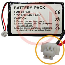 BT-925 3.7V Li-Ion Phone Battery for Uniden BBTY0471001, TRCU46, TRUC56, ERP512, ERP925