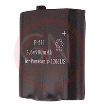 GN-P511 3.6V Ni-Cd Phone Battery for Panasonic P-P511A, P-P511A/B, HHR-P402A, TYPE24, TYPE30,