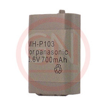 GN-P103 3.6V Ni-Cd Phone Battery for Panasonic  HHR-P103, HHR-P103a, TYPE 25