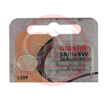 1 Maxell SR1116SW, 366 Silver Oxide Watch Battery