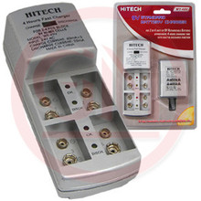 Hitech WY-49V 4-Bank Battery Charger for 9V Batteries