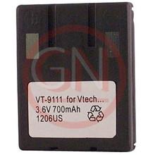 VT-9111 3.6V Ni-Cd Phone Battery for VTech 80-4280-00-00, 80-4134-02-00, VSB