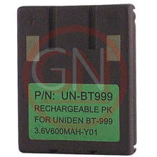 UN-BT999 3.6V Ni-Cd Phone Battery for Uniden BT-999, BBTY0405001