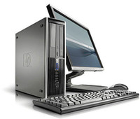"HP Elite 8100 Desktop with 22"" LCD, Core i5-650, 8GB RAM, 160GB HDD, Win 7 Pro, 1 Year Warranty - FREE DELIVERY"