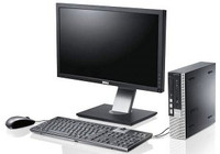 "Dell Optiplex 9010 Desktop with 24"" LCD, Core i7-3770, 8GB RAM, 128GB SSD HDD, Win 7 Pro, 1 Year Warranty - FREE DELIVERY"