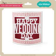 Flexi Card Happy Wedding Day