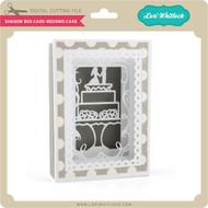 Shadow Box Card Wedding Cake