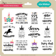 Unicorn Phrase Bundle