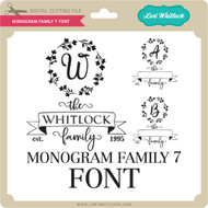 Monogram Family 7 Font
