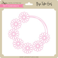 Pretty Flower Wreath