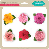 3D Flower Bundle