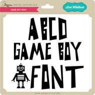 Game Boy Font