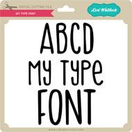 My Type Font
