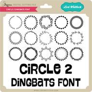 Circle 2 Dingbats Font