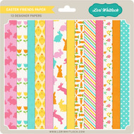 Pattern Fill Set Easter Friends