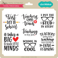 7 School Phrase Bundle