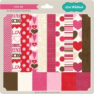 Pattern Fill Set Kiss Me