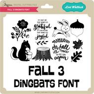 Fall 3 Dingbats