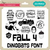 Fall 4 Dingbats