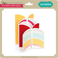 A2 Stretch Card Curved
